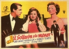 The Bachelor and the Bobby-Soxer - Spanish Movie Poster (xs thumbnail)