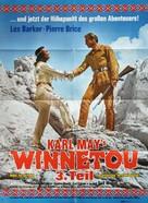 Winnetou - 3. Teil - German Movie Poster (xs thumbnail)