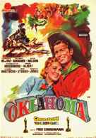 Oklahoma! - Spanish Movie Poster (xs thumbnail)