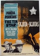 The Tin Star - Swedish Movie Poster (xs thumbnail)