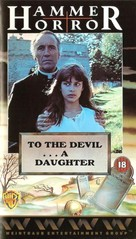 To the Devil a Daughter - British VHS cover (xs thumbnail)