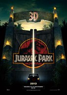 Jurassic Park - Mexican Re-release poster (xs thumbnail)