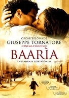 Baarìa - Swedish Movie Cover (xs thumbnail)