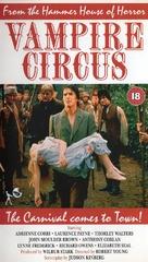 Vampire Circus - British VHS cover (xs thumbnail)