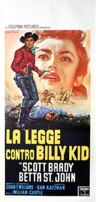 The Law vs. Billy the Kid - Italian Movie Poster (xs thumbnail)