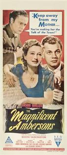 The Magnificent Ambersons - Australian Movie Poster (xs thumbnail)