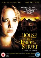 House at the End of the Street - British DVD cover (xs thumbnail)