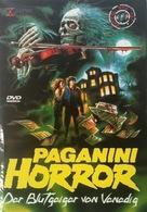 Paganini Horror - German DVD cover (xs thumbnail)