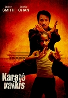 The Karate Kid - Lithuanian Movie Poster (xs thumbnail)