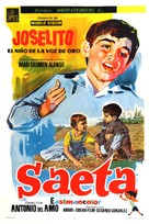 Saeta del ruiseñor - Argentinian Movie Poster (xs thumbnail)
