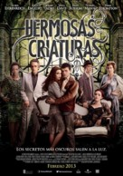 Beautiful Creatures - Argentinian Movie Poster (xs thumbnail)
