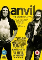 Anvil! The Story of Anvil - British DVD movie cover (xs thumbnail)