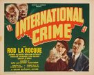 International Crime - Movie Poster (xs thumbnail)