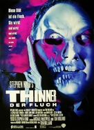 Thinner - German Movie Poster (xs thumbnail)
