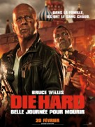 A Good Day to Die Hard - French Movie Poster (xs thumbnail)
