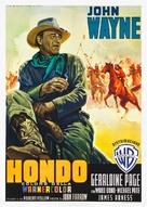 Hondo - Italian Movie Poster (xs thumbnail)
