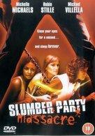 The Slumber Party Massacre - British DVD cover (xs thumbnail)
