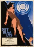 Das blaue Licht - Danish Movie Poster (xs thumbnail)