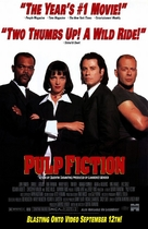 Pulp Fiction - Video release movie poster (xs thumbnail)