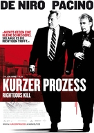 Righteous Kill - German Movie Poster (xs thumbnail)