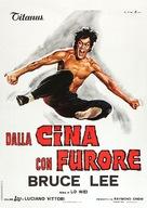 Jing wu men - Italian Theatrical movie poster (xs thumbnail)