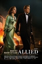 Allied - Danish Movie Poster (xs thumbnail)