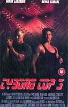 Cyborg Cop III - British VHS movie cover (xs thumbnail)