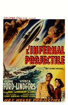 The Flying Missile - Belgian Movie Poster (xs thumbnail)