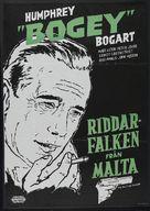 The Maltese Falcon - Swedish Movie Poster (xs thumbnail)