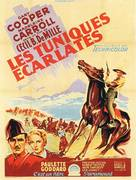 North West Mounted Police - French Movie Poster (xs thumbnail)