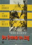 Strangers on a Train - German Movie Poster (xs thumbnail)