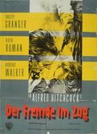 Strangers on a Train - German Movie Poster (xs thumbnail)