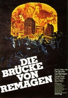The Bridge at Remagen - German Movie Poster (xs thumbnail)