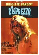 Le mépris - Italian Movie Poster (xs thumbnail)