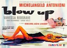 Blowup - German Theatrical movie poster (xs thumbnail)
