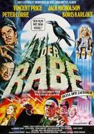 The Raven - German Movie Poster (xs thumbnail)