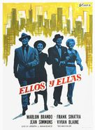Guys and Dolls - Spanish Movie Poster (xs thumbnail)