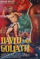 David e Golia - German Movie Poster (xs thumbnail)