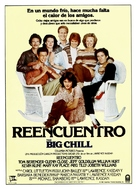 The Big Chill - Spanish Movie Poster (xs thumbnail)