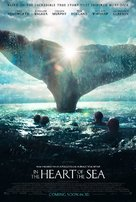 In the Heart of the Sea - Theatrical movie poster (xs thumbnail)
