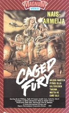 Caged Fury - Finnish VHS cover (xs thumbnail)
