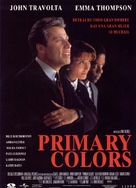 Primary Colors - Spanish Movie Cover (xs thumbnail)