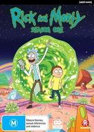 """Rick and Morty"" - Australian DVD movie cover (xs thumbnail)"