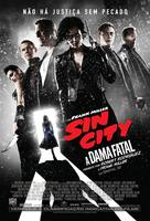 Sin City: A Dame to Kill For - Brazilian Movie Poster (xs thumbnail)