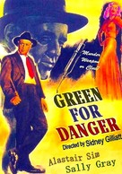 Green for Danger - British Movie Poster (xs thumbnail)