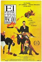 The Favour, the Watch and the Very Big Fish - Spanish Movie Poster (xs thumbnail)
