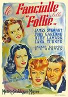 Ziegfeld Girl - Italian Movie Poster (xs thumbnail)
