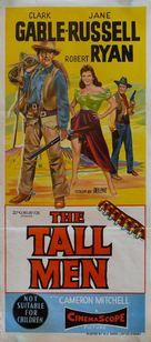 The Tall Men - Australian Movie Poster (xs thumbnail)