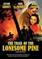 The Trail of the Lonesome Pine - British Movie Cover (xs thumbnail)
