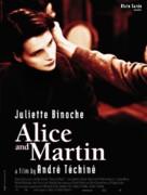 Alice et Martin - British Movie Poster (xs thumbnail)